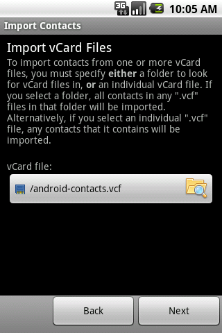 edam ]:: » Import Contacts